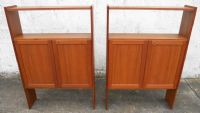 1960's Retro, Teak Open Bookcase Shelves Storage Cabinet by Hyperion of Weybridge